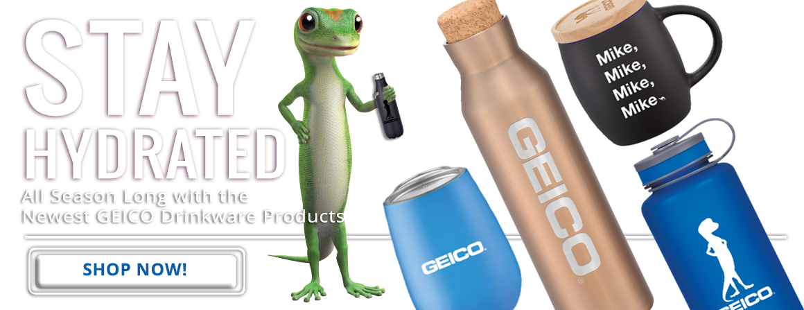 Drinkware by Geico