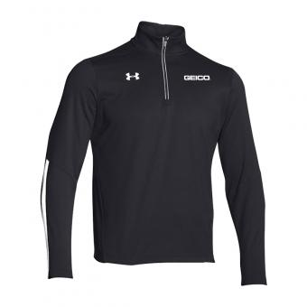 GEICO Men's Under Armour 1/4 Zip (Black)