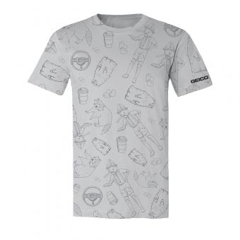 GEICO All Over Print Sequel Tee