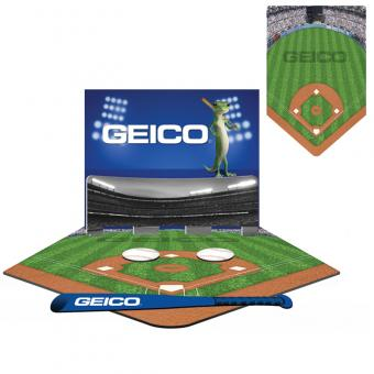 GEICO Mini Tabletop Baseball Game
