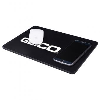 GEICO Qi Mouse Pad with Wireless Charging