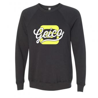 GEICO Unisex Fleece Crew- Graphite