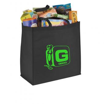 GEICO Jumbo Non-Woven Grocery Tote