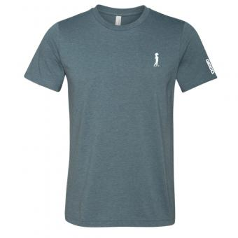 GEICO Heather Slate Icon Tee