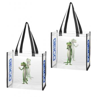 GEICO Clear Stadium Tote