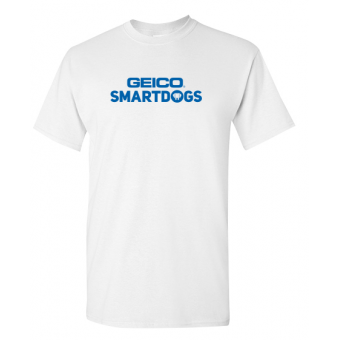 SMARTDOGS Adult T-Shirt - White