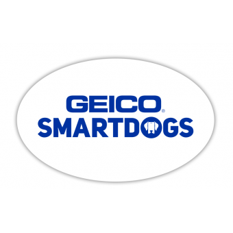 SMARTDOGS Decorative Sticker - White