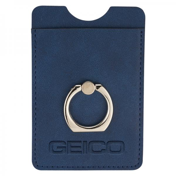 GEICO RFID Phone Wallet with Ring Holder